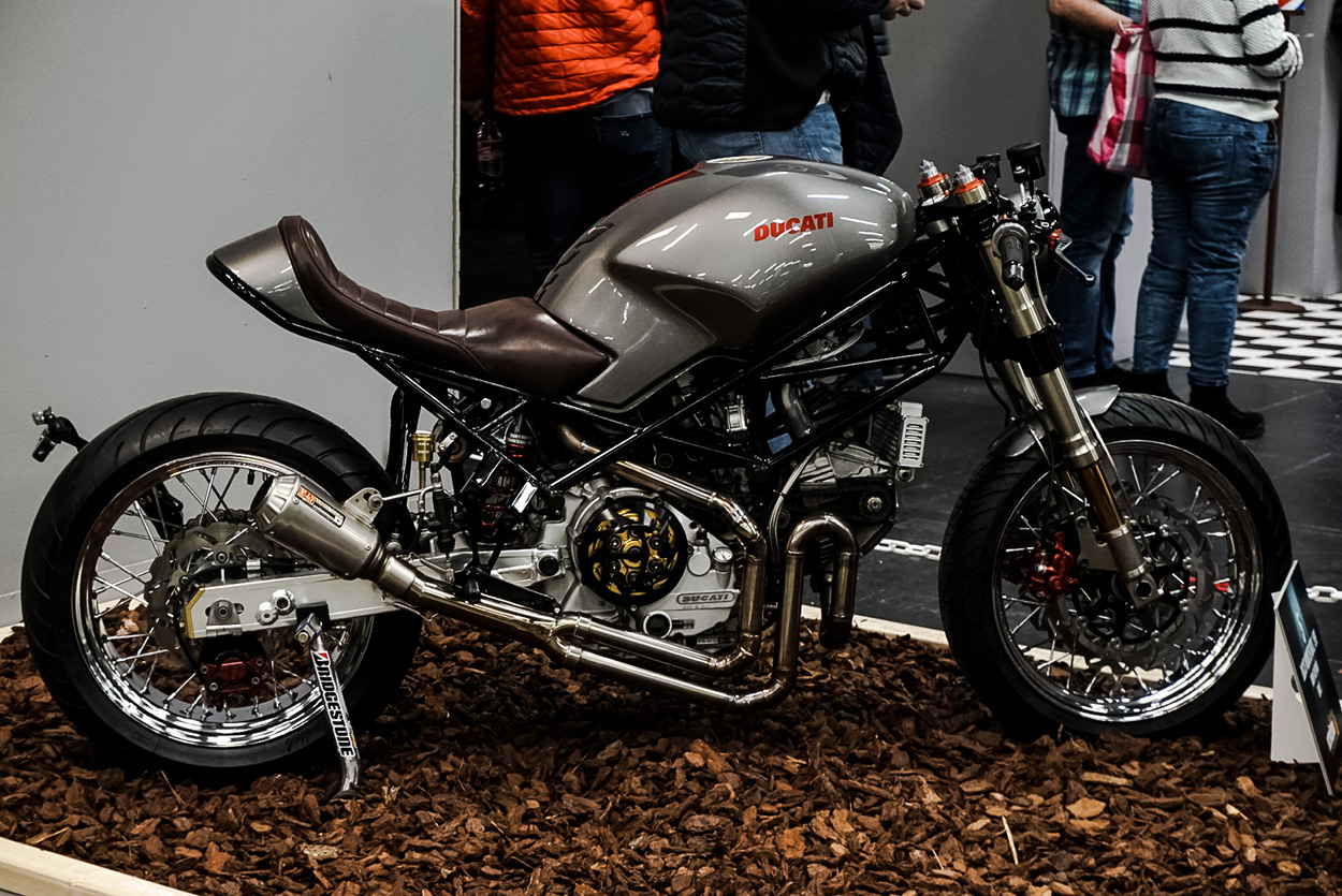 ducati monster cafe racer by frc moto bikebound. Black Bedroom Furniture Sets. Home Design Ideas