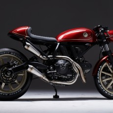 Ducati Scrambler 400 Cafe Racer by Eastern Spirit Garage