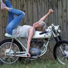 "Honda CB125 Brat Cafe: ""Biff"""