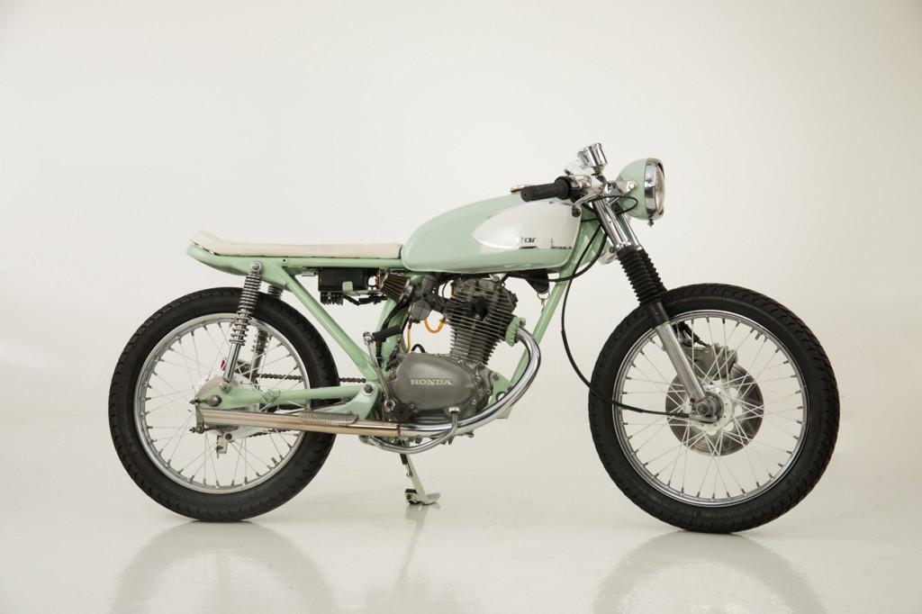 Honda CB125 Brat Cafe