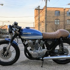 "Honda CB450 Cafe Racer:  ""Tenbrooks"""