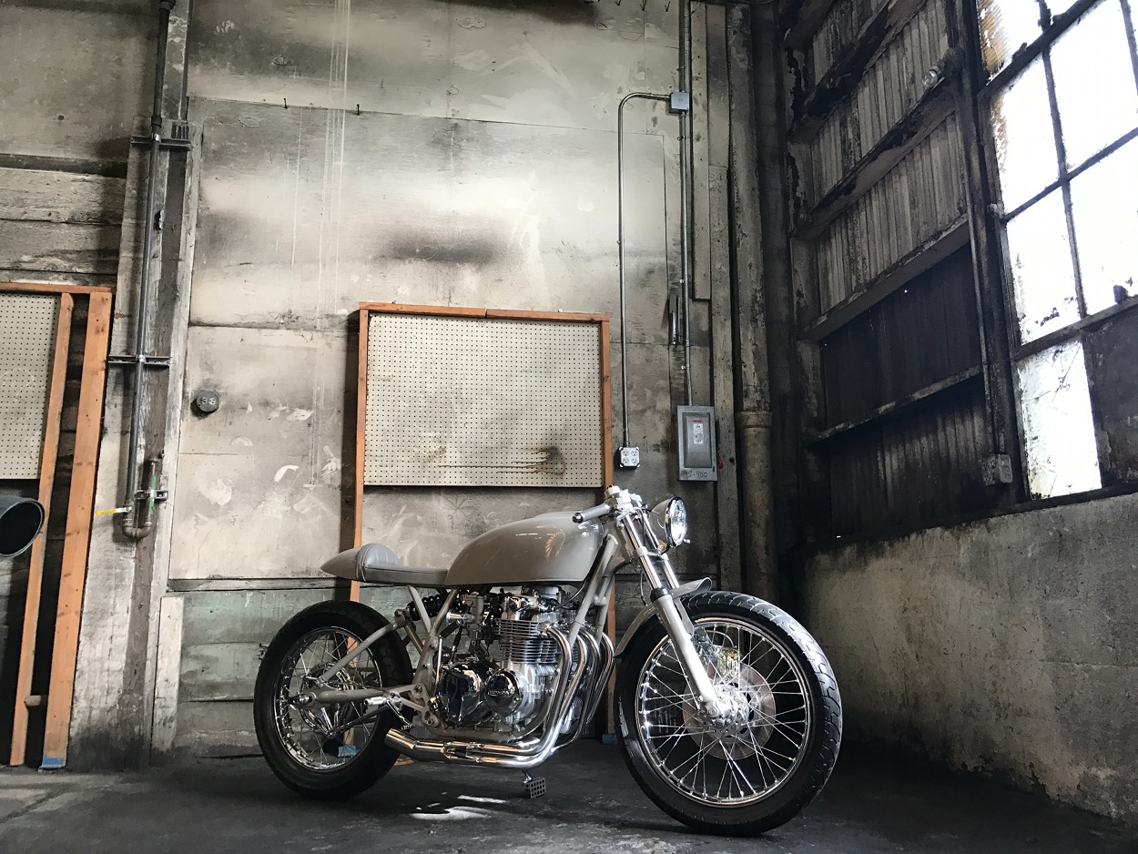 Grey Ghost CB550K Cafe Racer – BikeBound