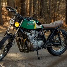 Honda CB750K Brat by Sean Junqueira
