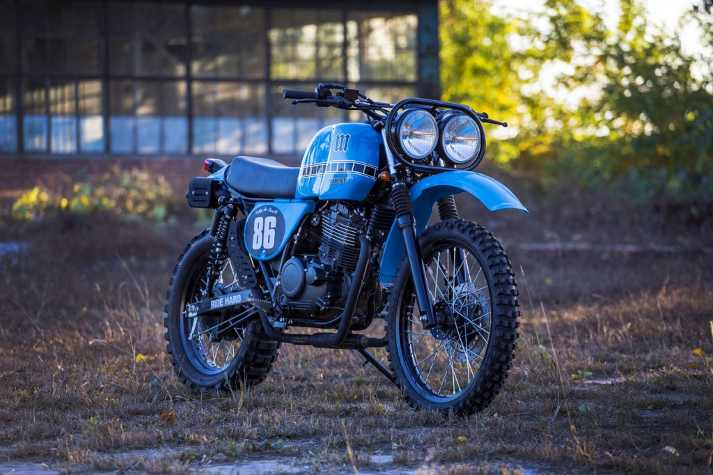 Shineray 440 Scrambler