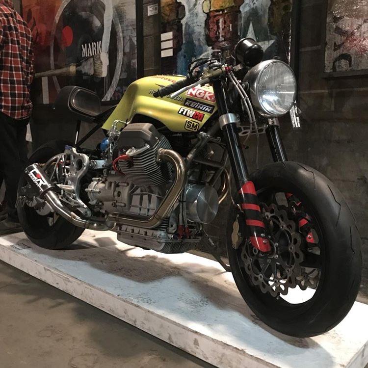 Moto Guzzi Racer by Chvrch.