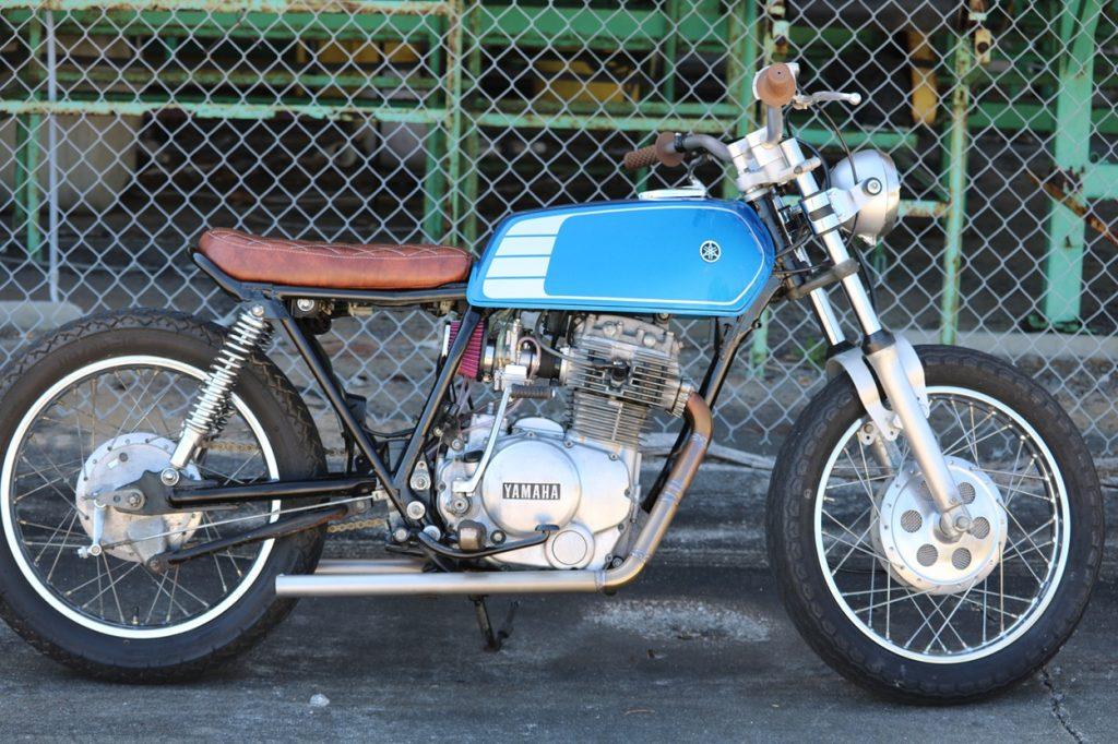 Yamaha XS400 Tracker