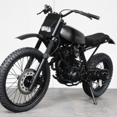 Yamaha XT600 Desert Sled by Pancake Customs