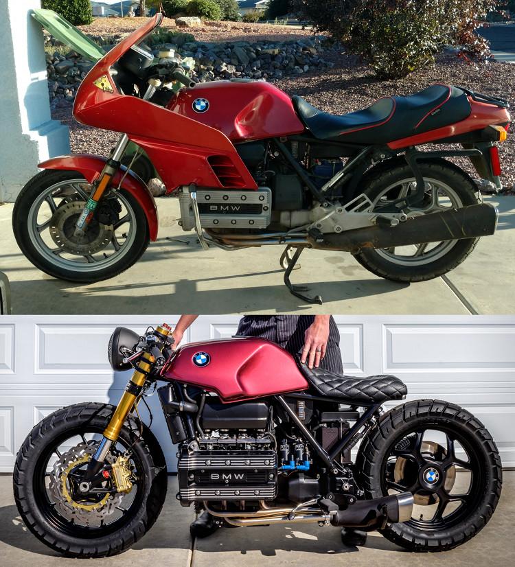 """BMW K100 Bobber: """"Mira"""" – BikeBound"""