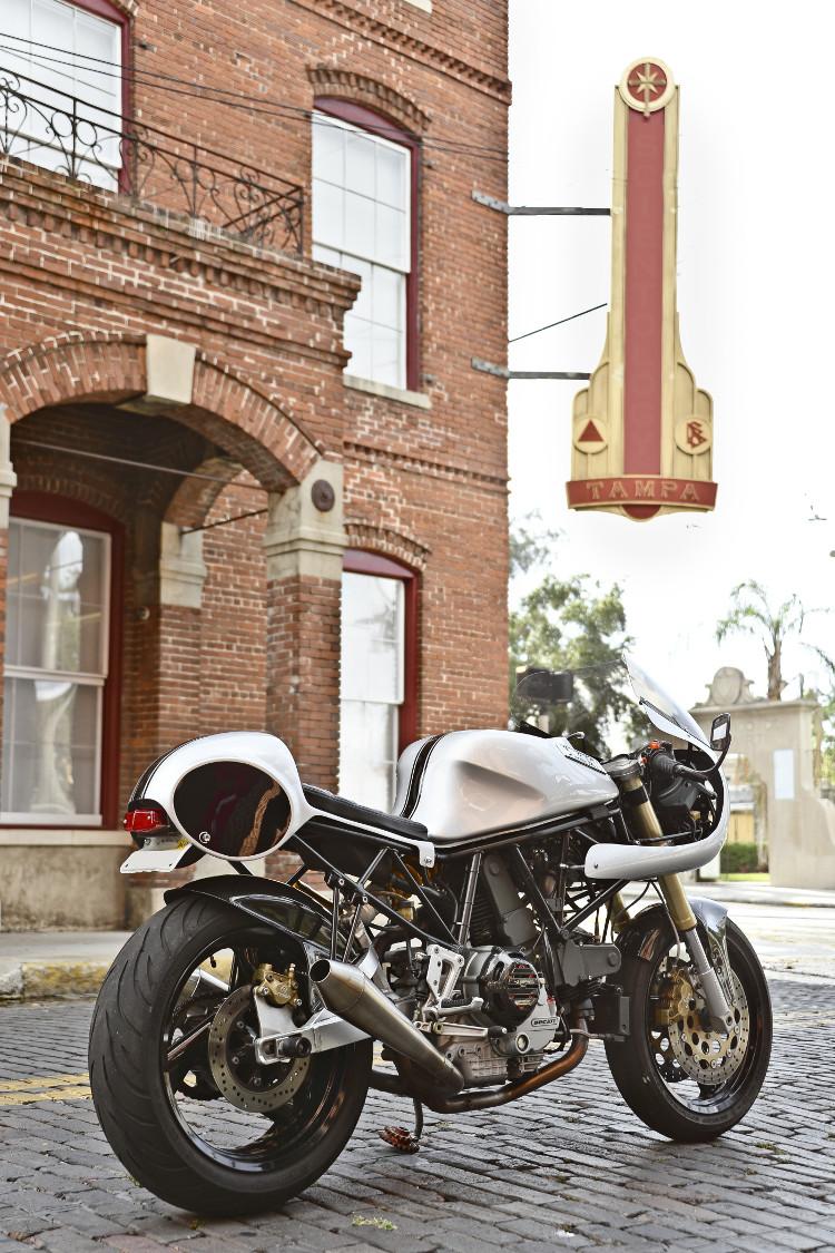ducati 900ss retro racer cafe bikebound. Black Bedroom Furniture Sets. Home Design Ideas