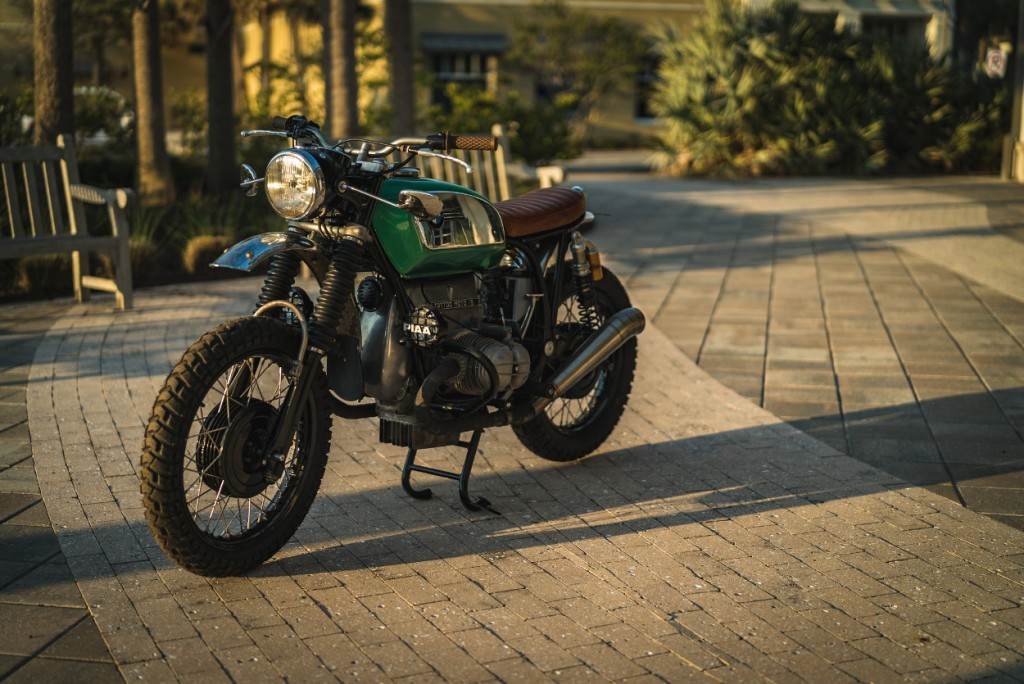 1972 BMW R75/5. Green Scrambled Toaster