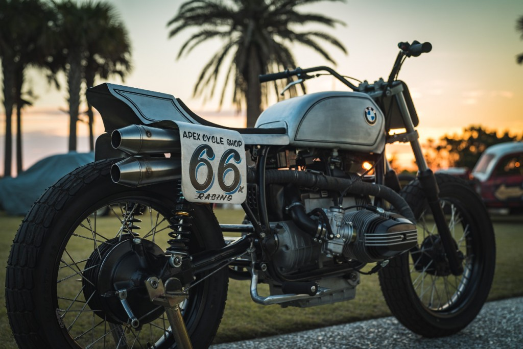 BMW R100 Tracker by Apex Cycle Shop