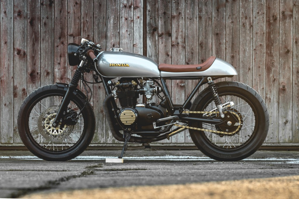 Honda Cb Cafe Racer Bike