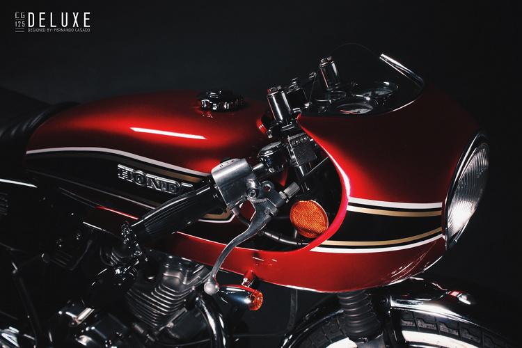 Honda CG125 Fairing Cafe Racer