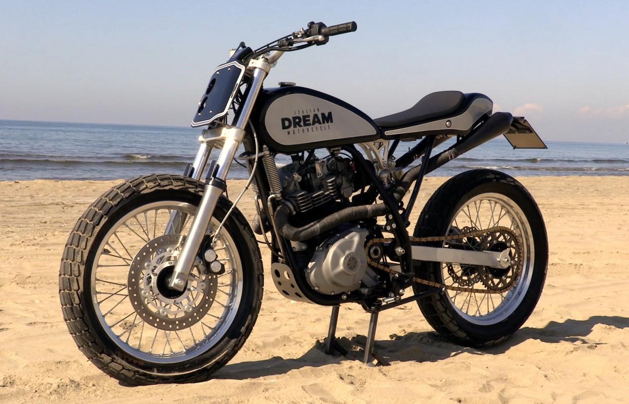 Suzuki 600 Dr : suzuki dr600 street tracker by italian dream motorcycle ~ Nature-et-papiers.com Idées de Décoration