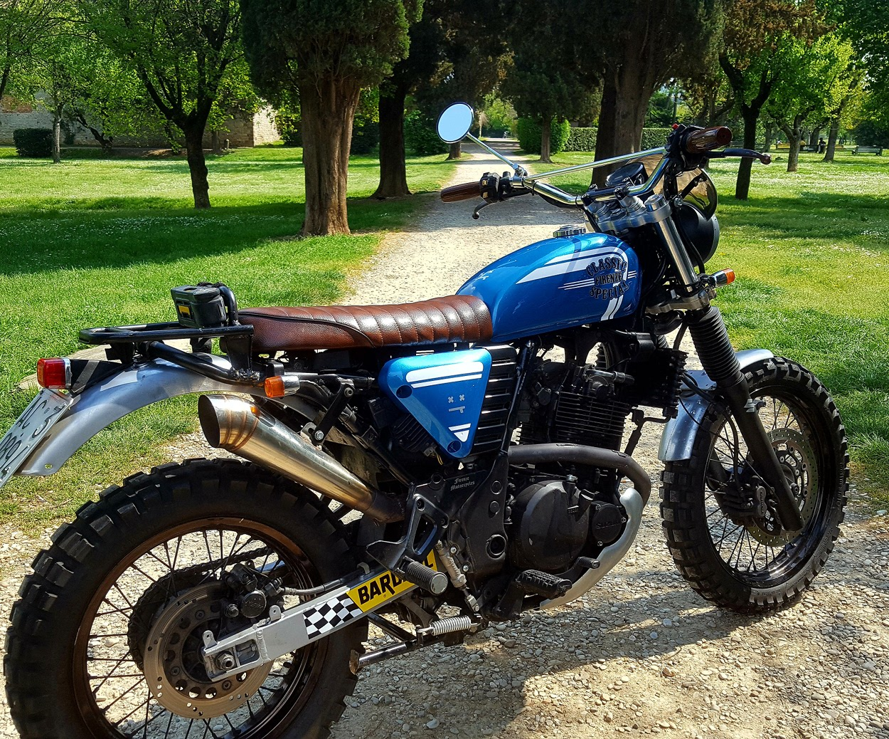 The Result Is A Modern Scrambler Thats Not Only Aesthetically Pleased But Athletic As Well To Date Marco Has Taken Bike On Long Trips Through