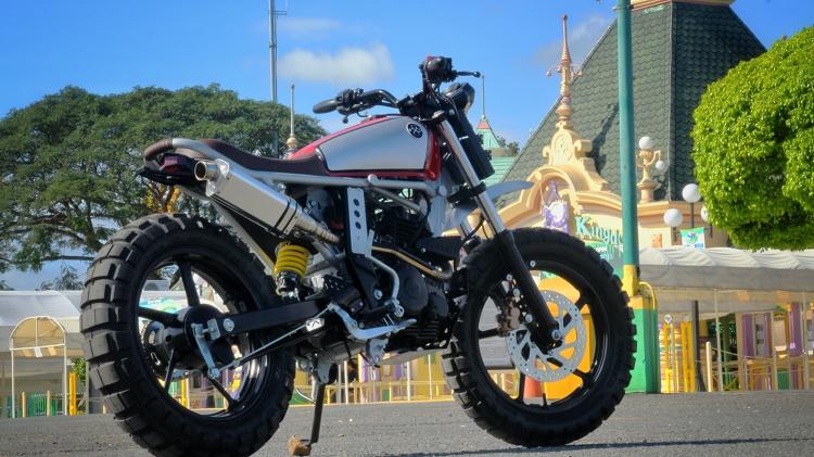 Yamaha FZ16 Byson Scrambler