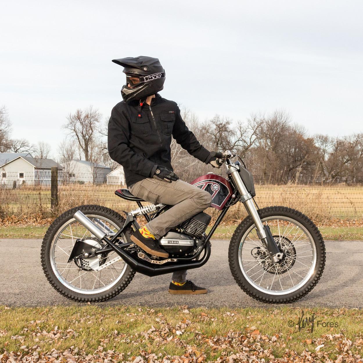 Yamaha RD350 Custom by Jake Drummond Designs – BikeBound