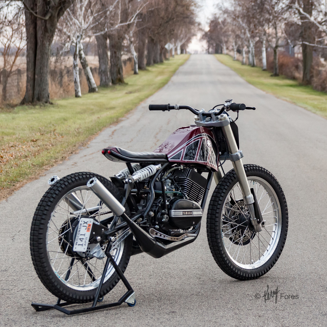 Yamaha RD350 Custom by Jake Drummond Designs – BikeBound