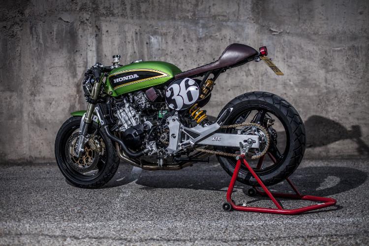 Honda Hornet Cafe Racer By Xtr Pepo Bikebound
