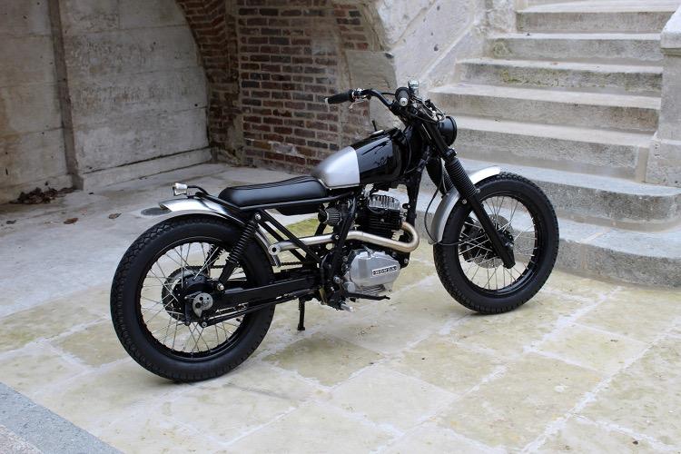 honda nx125 tracker by l tabli garage bikebound. Black Bedroom Furniture Sets. Home Design Ideas