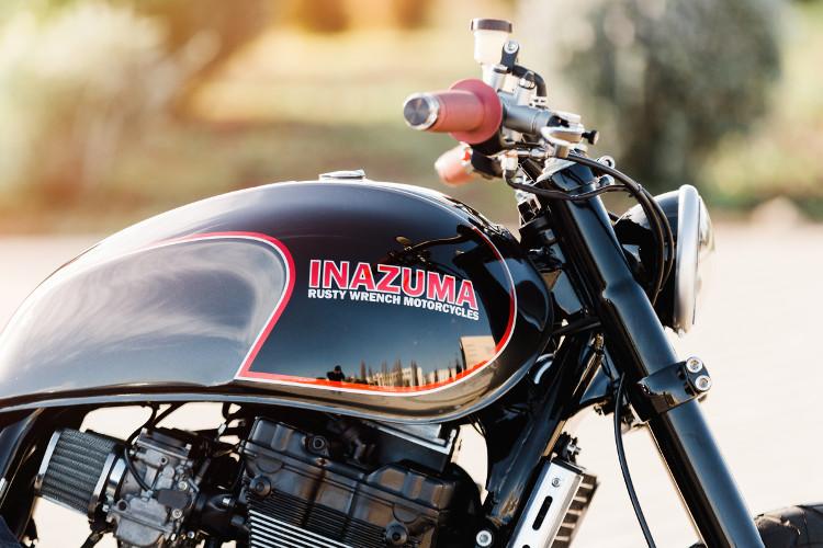 Suzuki GSX1200 Inazuma Custom Scrambler