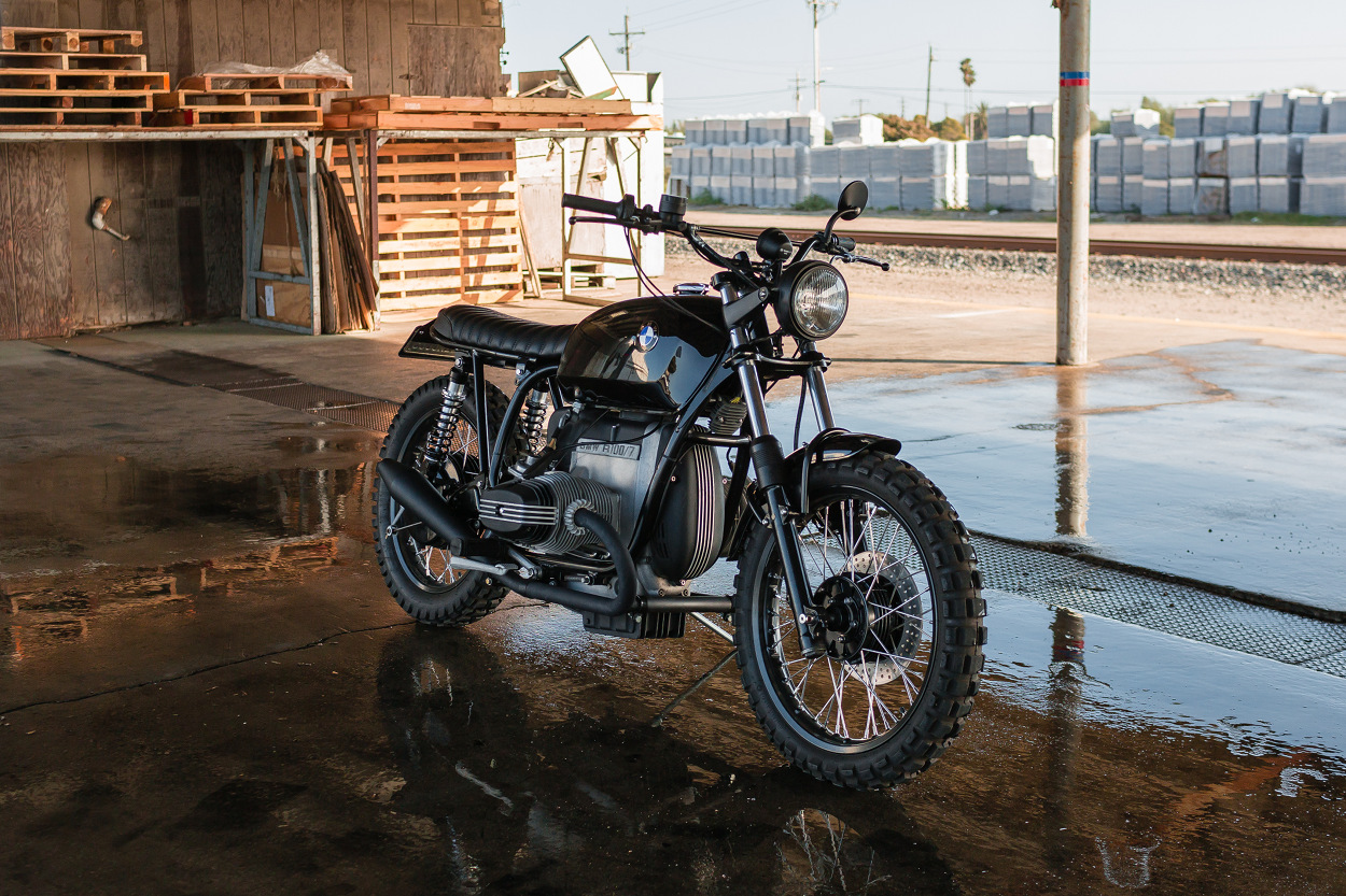 Kawasaki Bighorn 350 Street Tracker by Fifty-Two Cycles – BikeBound