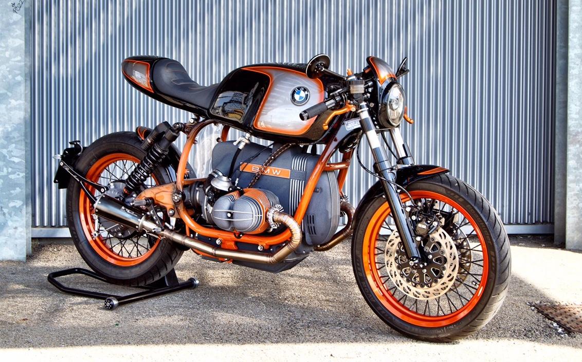 Bmw R65 3 Cafe Racer By Toro Moto Bikebound