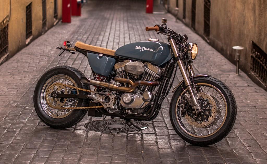 Harley Sportster Brat Tracker