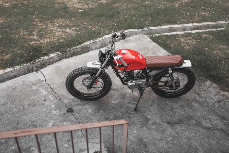Honda TMX 155 Brat Tracker By Revolt Cycles
