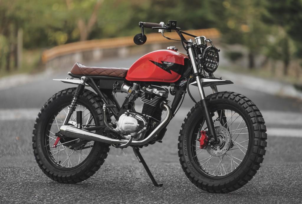 Honda TMX 155 Scrambler