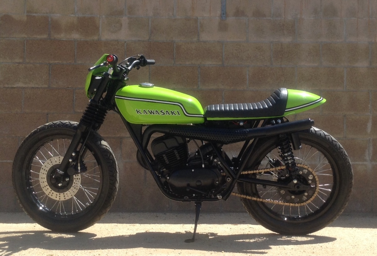 Kawasaki Bighorn 350 Street Tracker by Fifty-Two Cycles