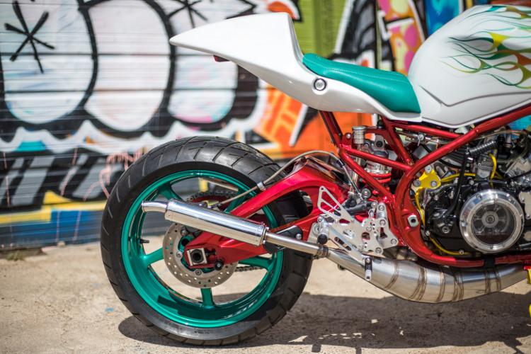 Yamaha RZ350 Custom Cafe Racer