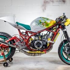 Swinndustries: стрит Yamaha RZ350 Lab Rat / Кастомайзинг