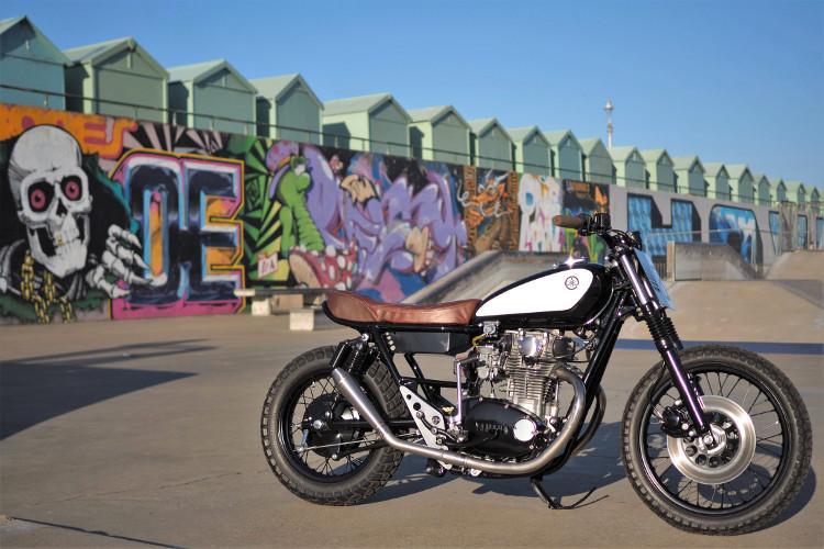 Yamaha XS650 Brat Tracker