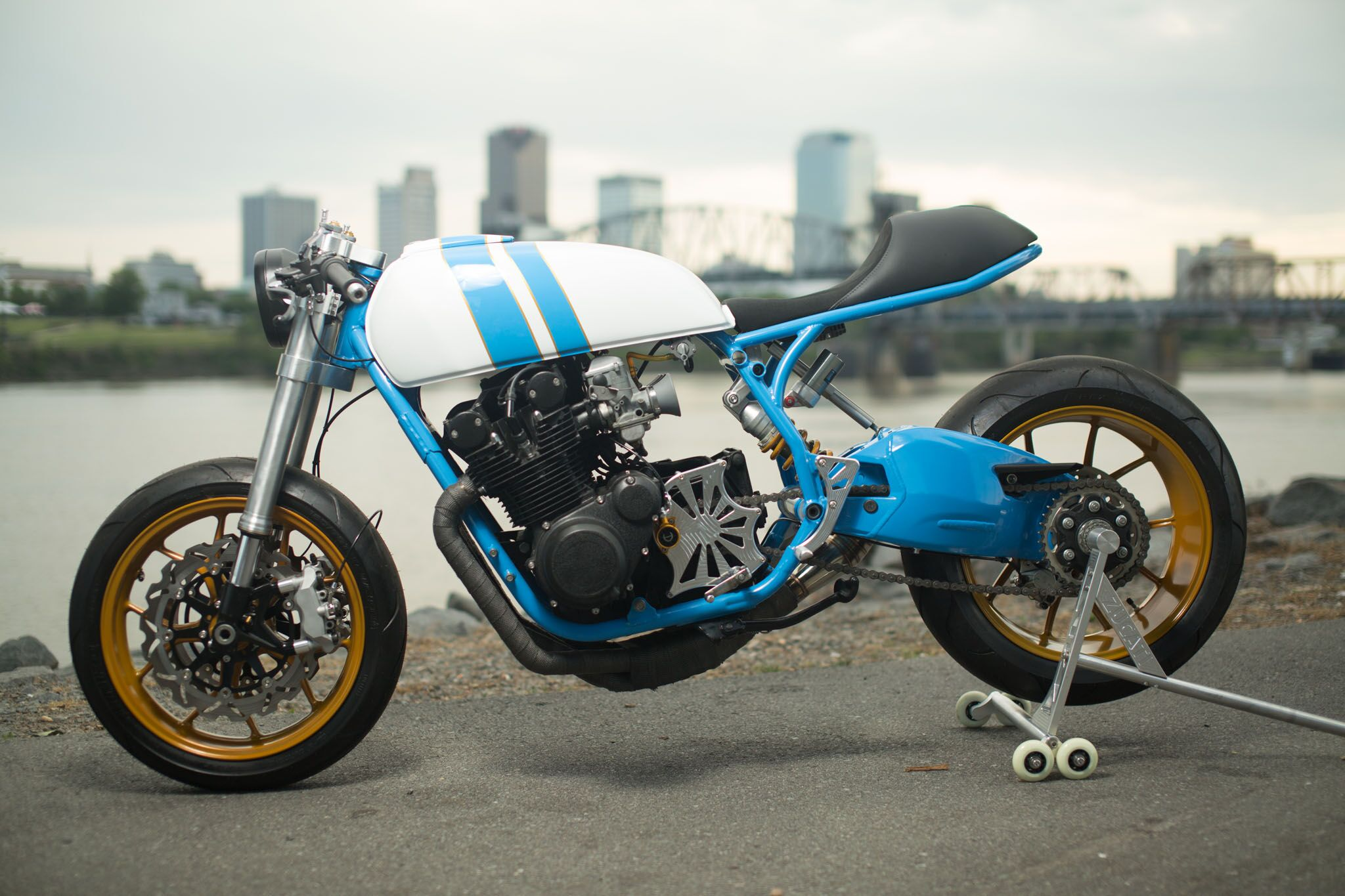"""Zucati"" Cafe Racer: Builder Interview"