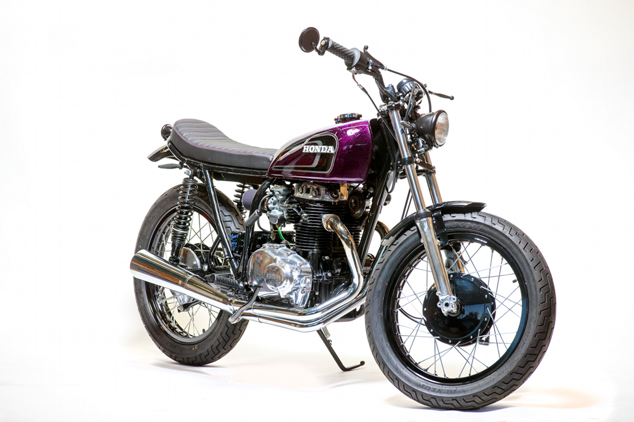 Honda CB360 Brat Tracker We Were Thrilled To Hear Recently From Adam Smith Of Indianapoliss Renewd Moto Not Only Is An Avid Reader BikeBound