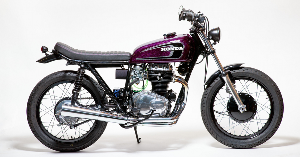 The 1974 Honda CB360 You See Here Started From Horribly Inauspicious Beginnings A 250 Roached Out CB With No Title And Motor That Had Been Run Without