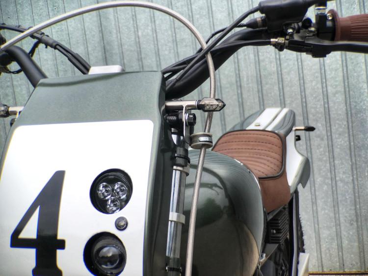 Suzuki DR800 Street Tracker