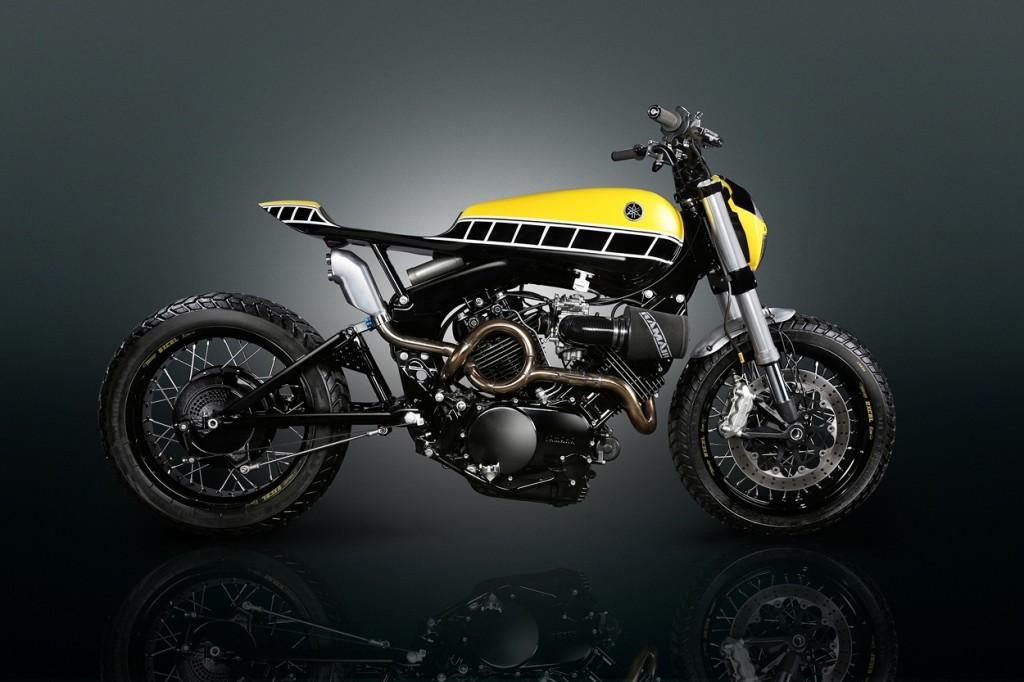 Yamaha XV750 Virago Tracker
