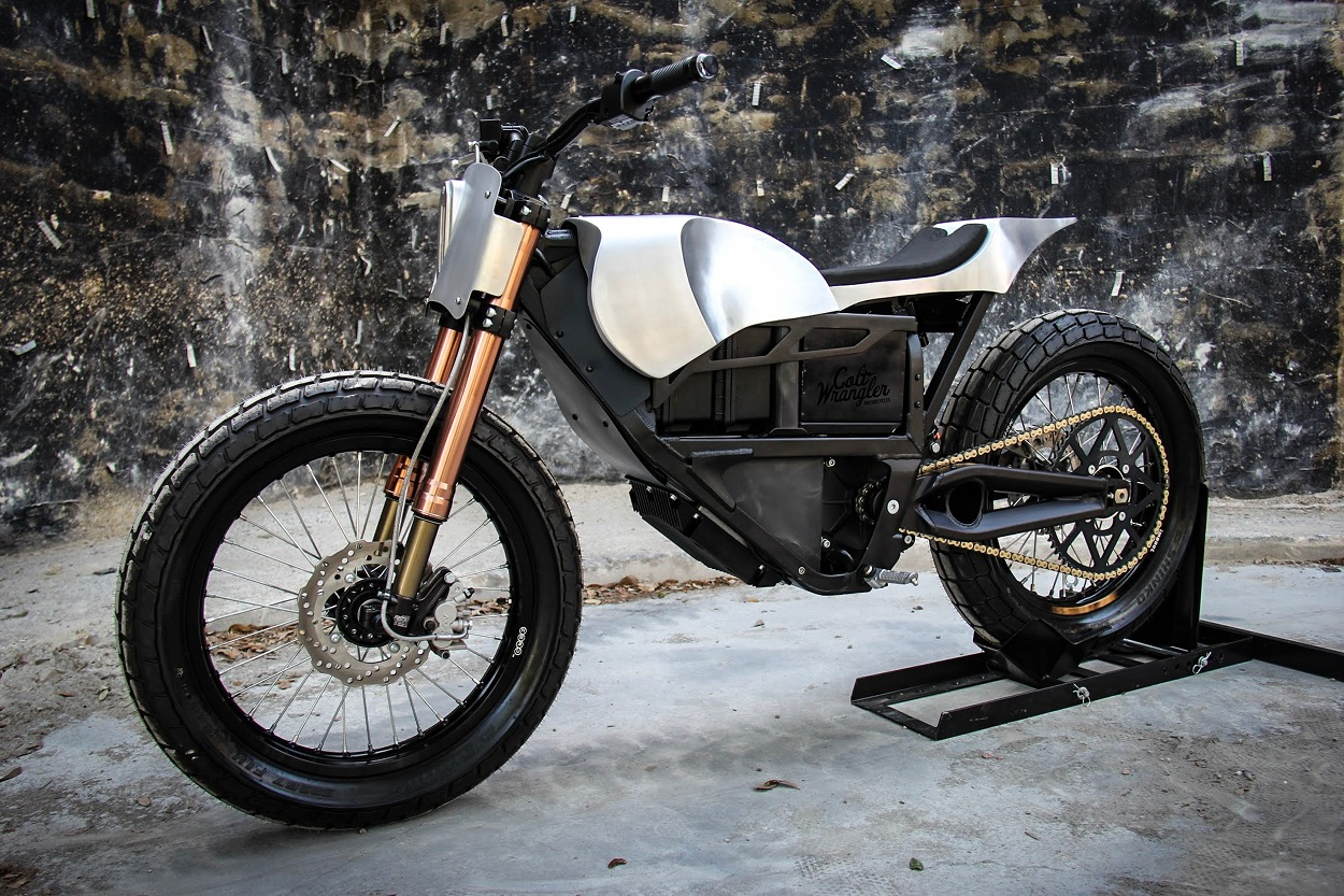 Zero XU Electric Street Tracker