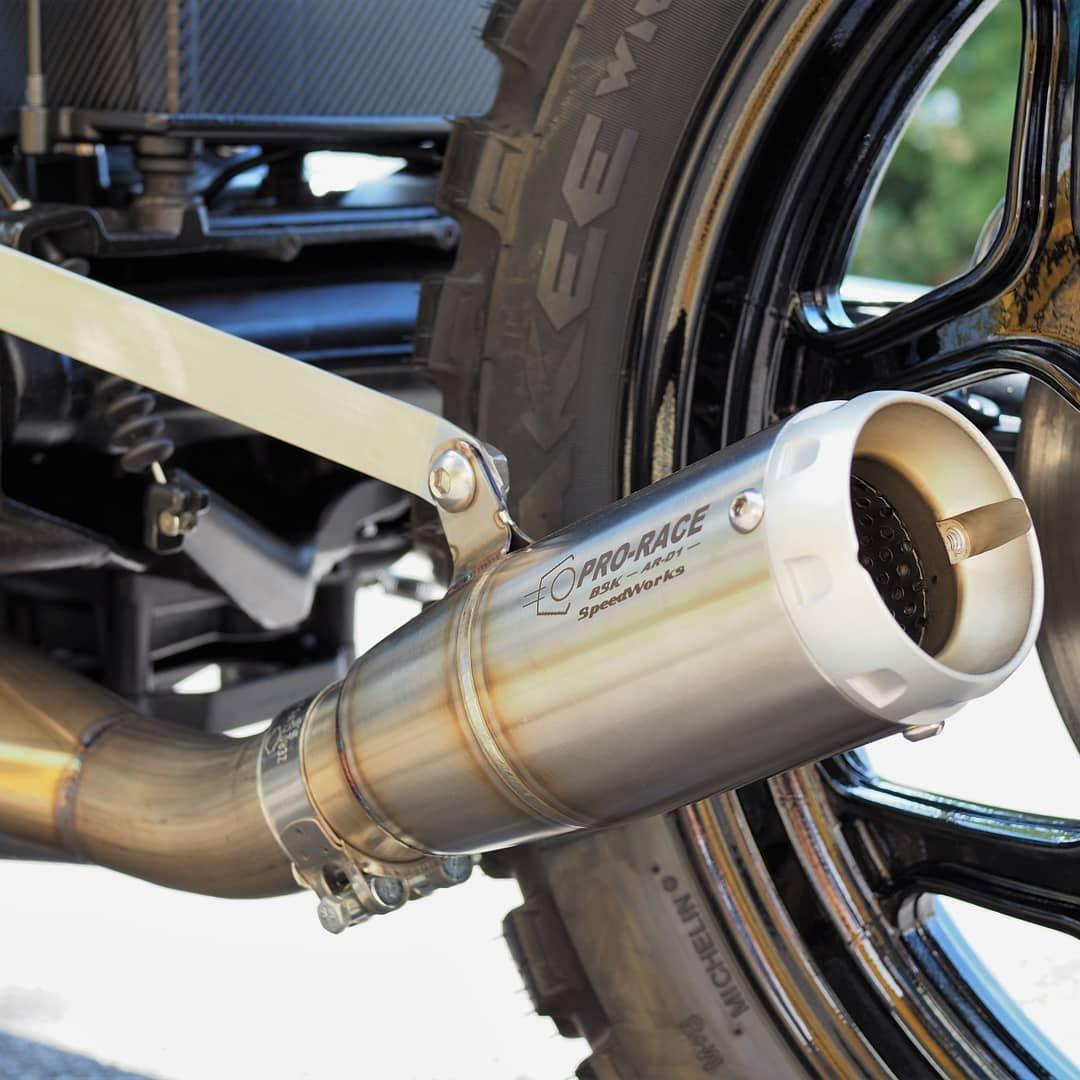 Bmw K100 Street Scrambler By Kustom Moto Bikebound