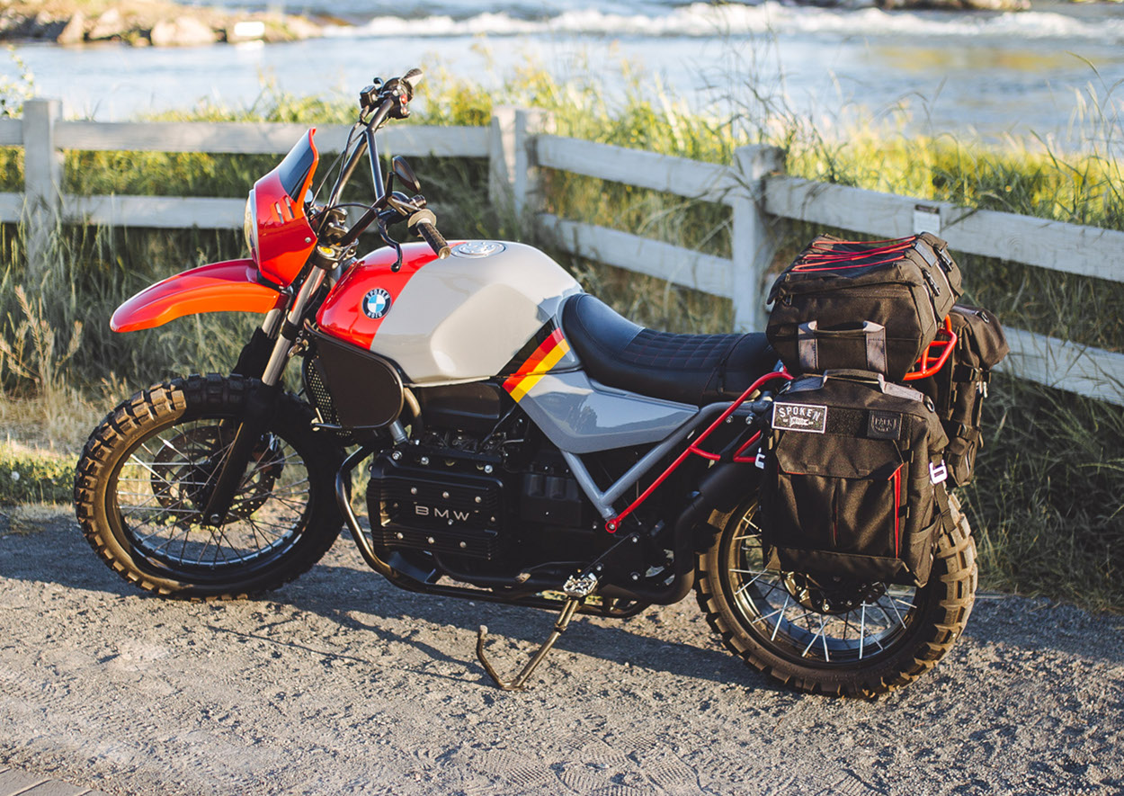 BMW K75 Adventure Touring Bike by Spoken Moto – BikeBound