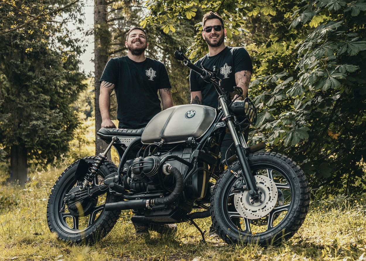 BMW R80 Street Scrambler by JM Customs – BikeBound
