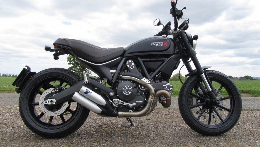 Ducati Scrambler Full Throttle Black