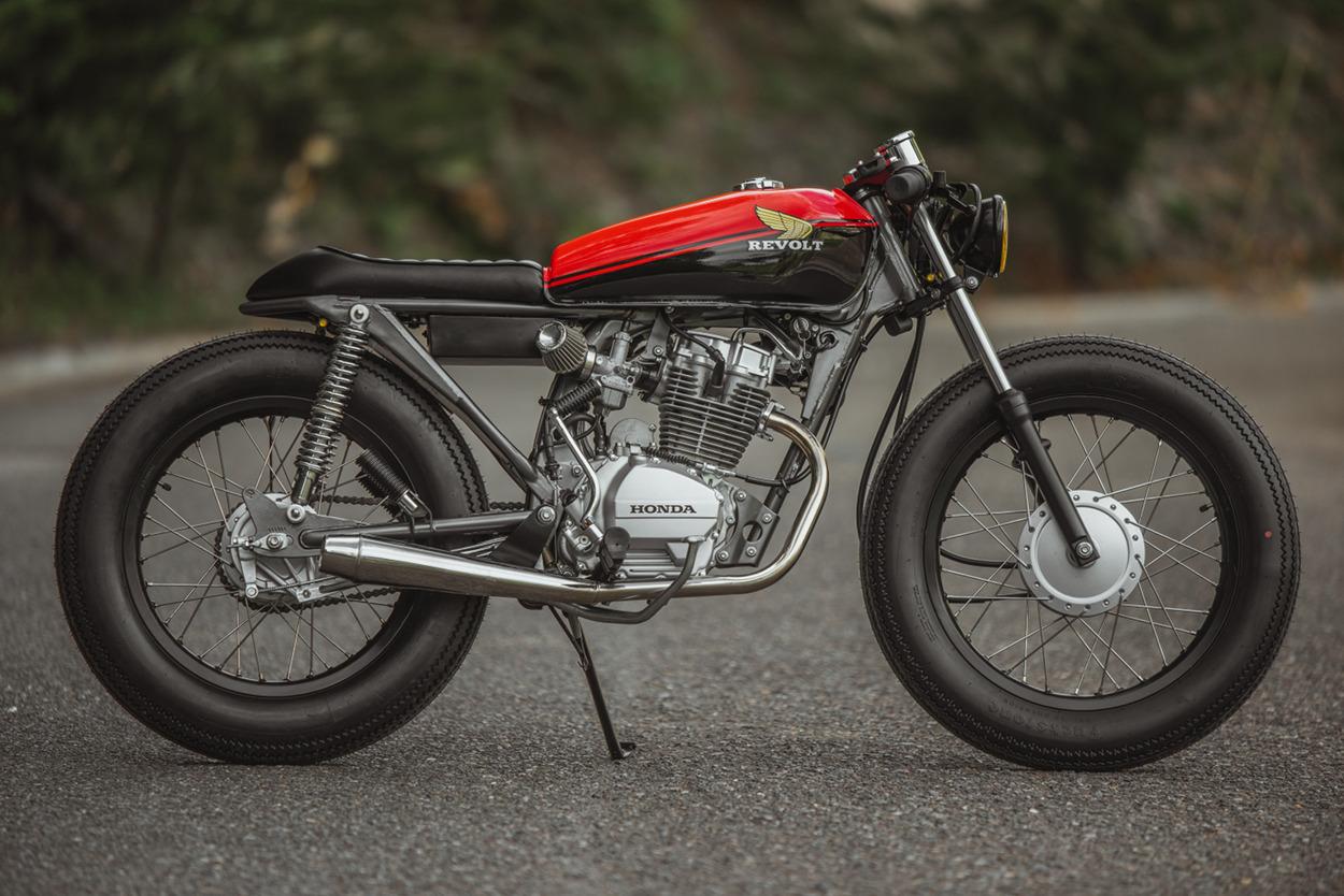 Honda 125 Brat Cafe By Revolt Cycles Bikebound