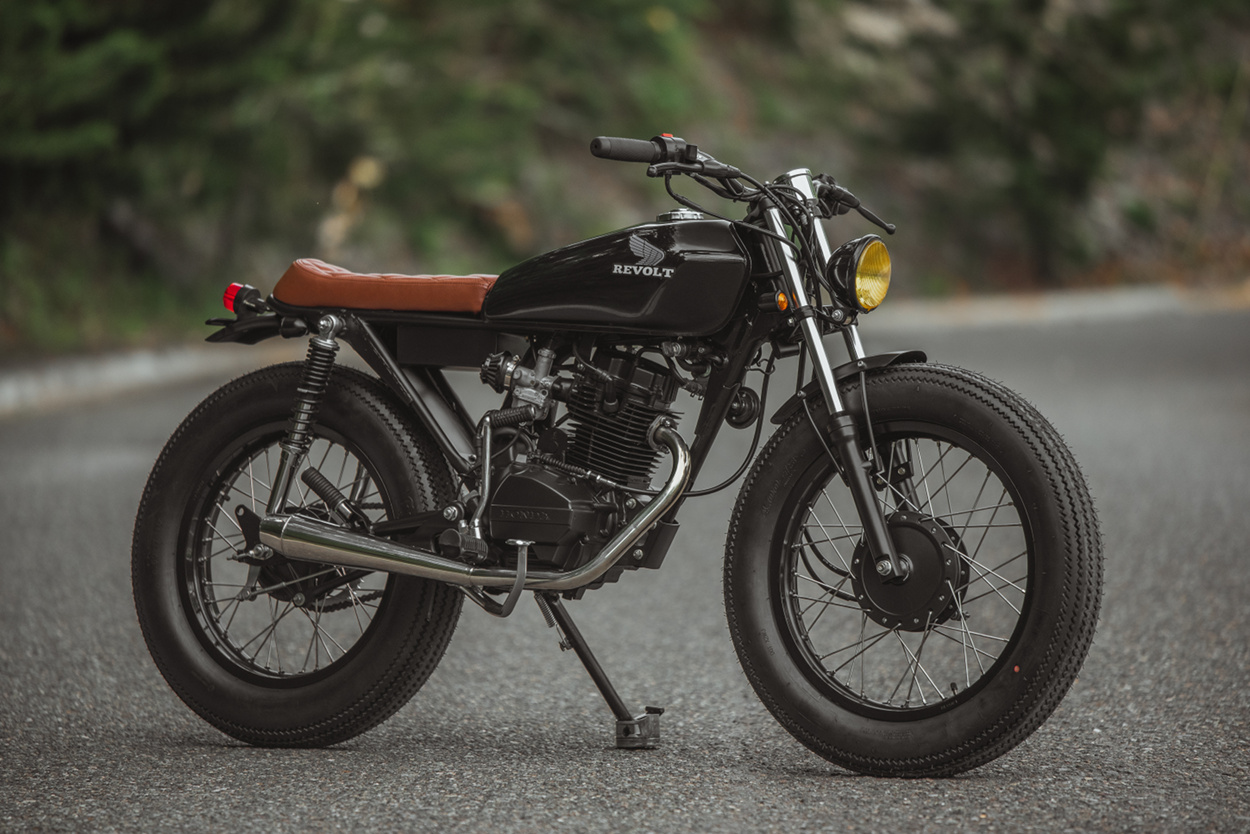 Bikebound Page 9 Cafe Racers Scramblers Trackers And Bratstyle 1970 Honda 125cc Motorcycle 125 Blanko By Revolt Cycles
