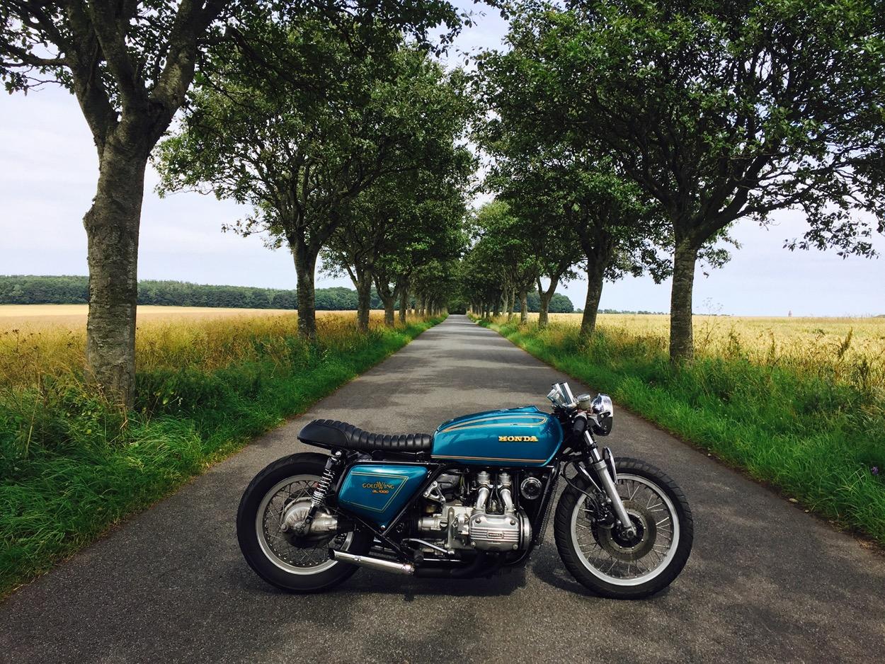 Honda GL1000 Goldwing Cafe Racer by 85 Speedshop – BikeBound