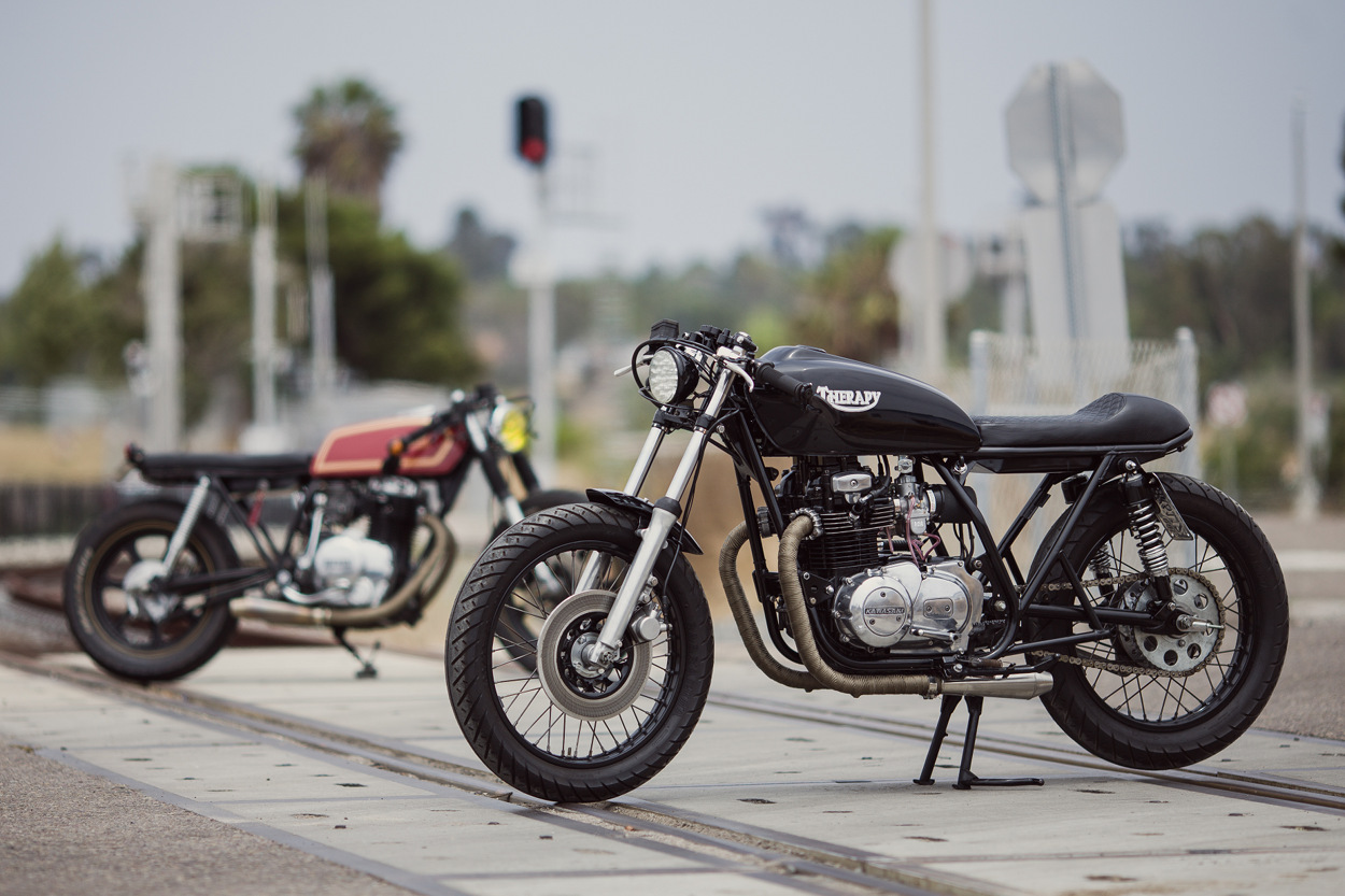 Kawasaki 750 Zephyr Café Racer by Wolf 77 Customs - BikeBound