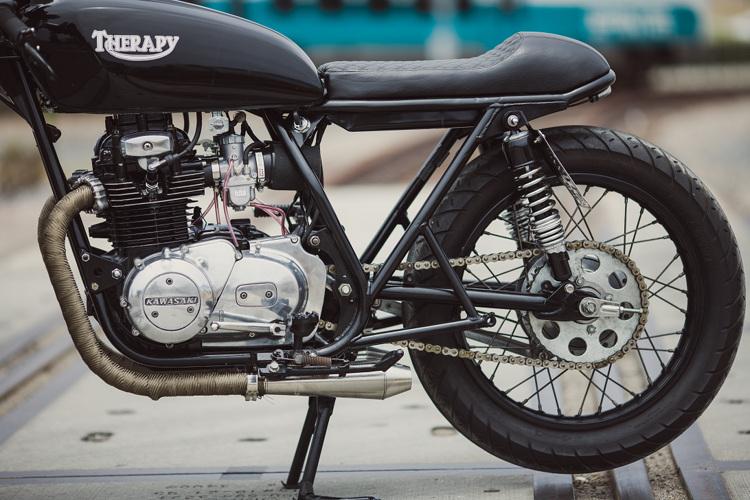 1976 kawasaki kz400 cafe racer parts