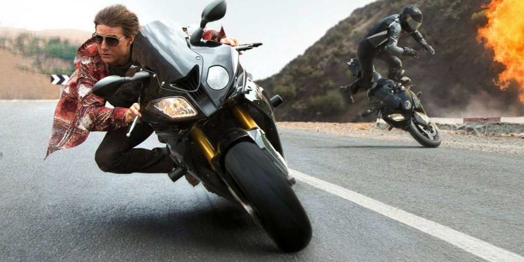 Mission Impossible 5 Motorcycle